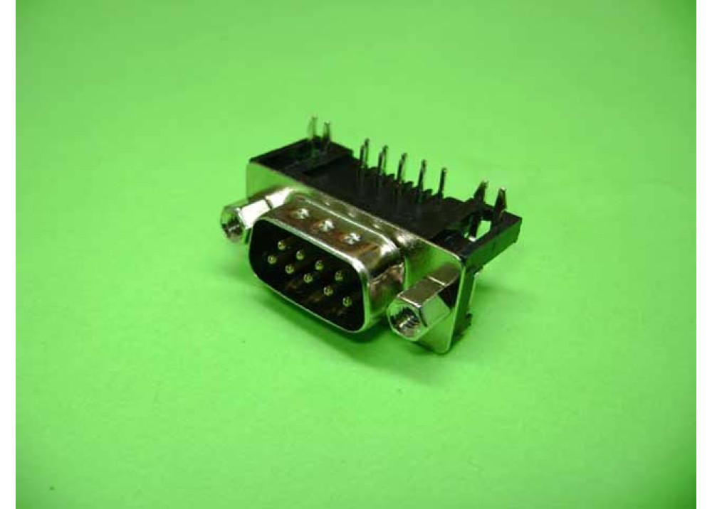 PCB SUB D9MR Wire To Bord