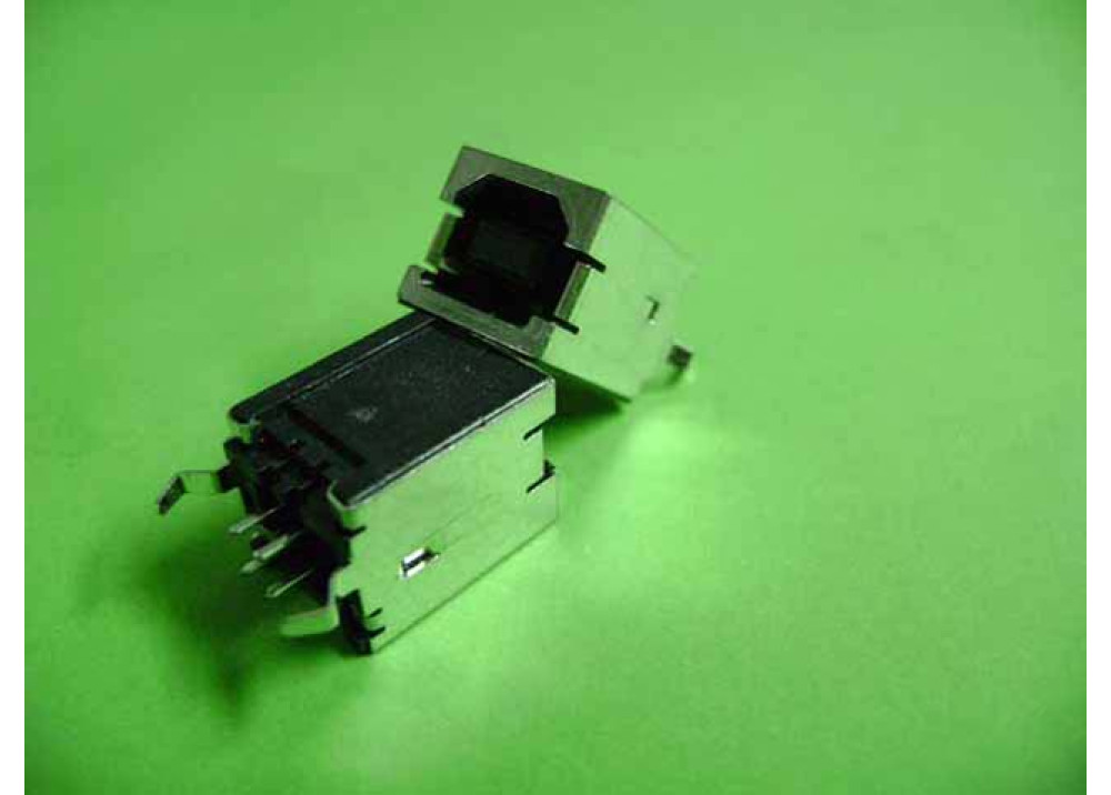JK USB TYPE B Female Straight Angle