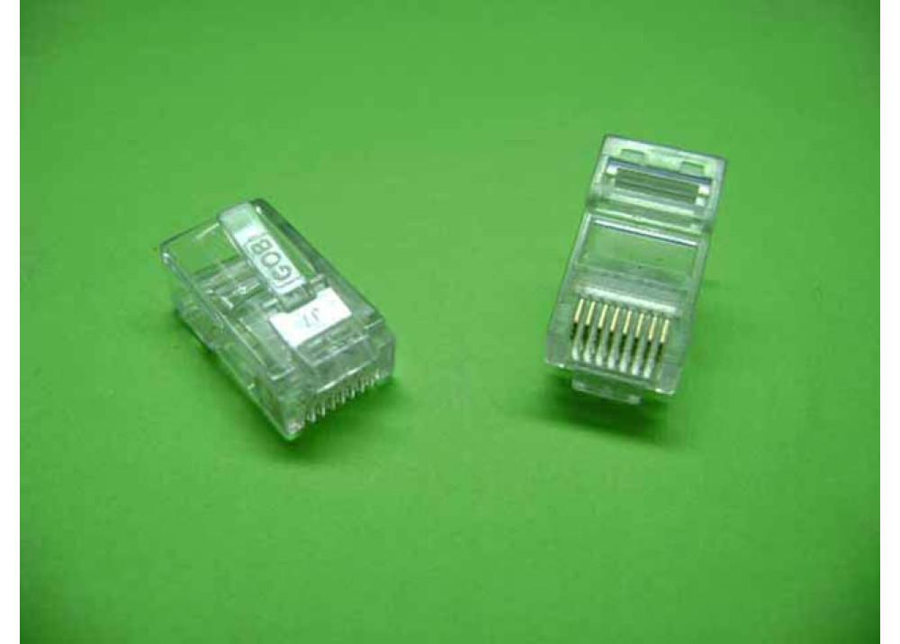 JK RJ45 Plug 8P 4Pcs