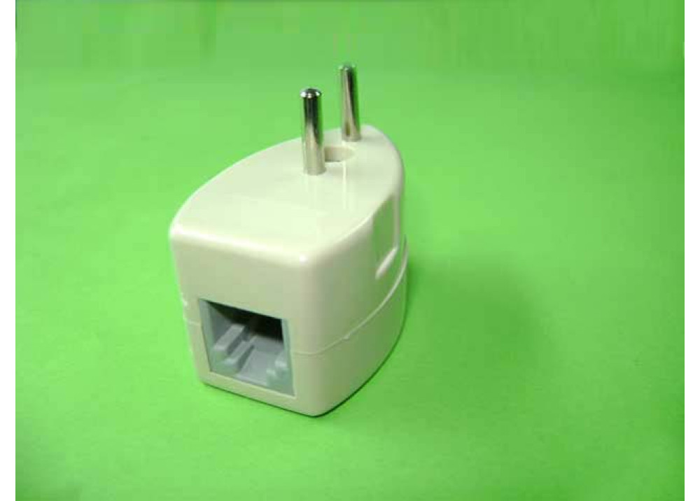 Adapter male plug to female RJ11