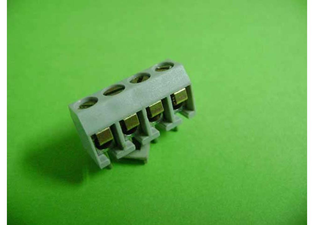 PCB screw terminal block 5.08mm 4P