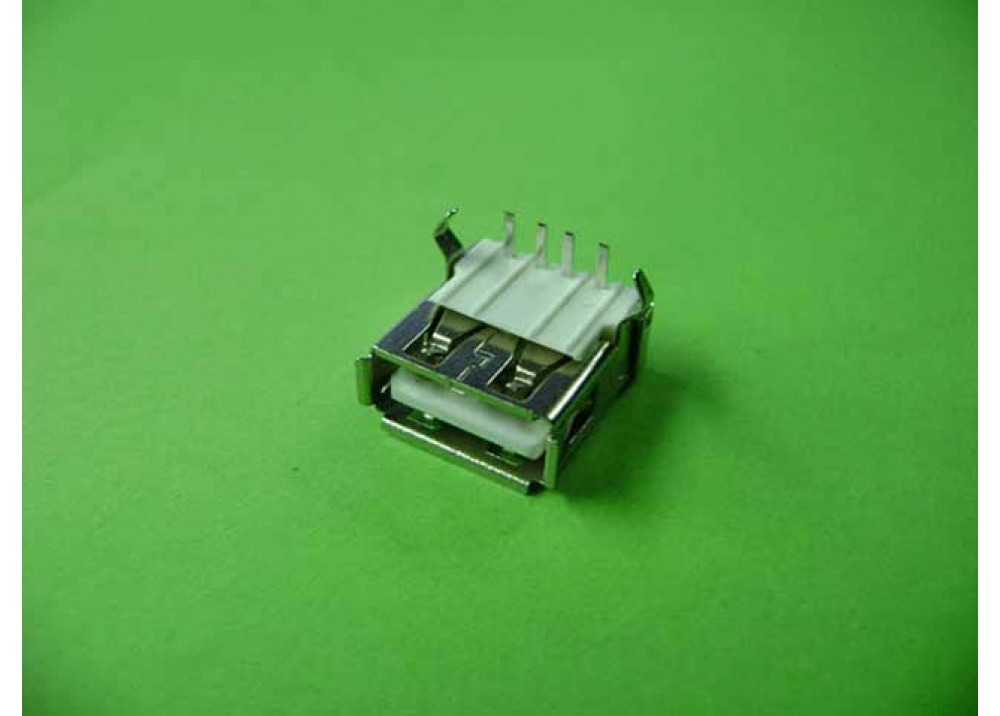 Connector USB Type A Female Right Angle PCB