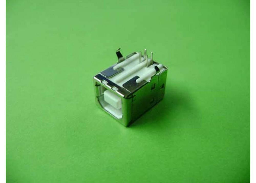 JK USB Type B Female Right Angle PCB