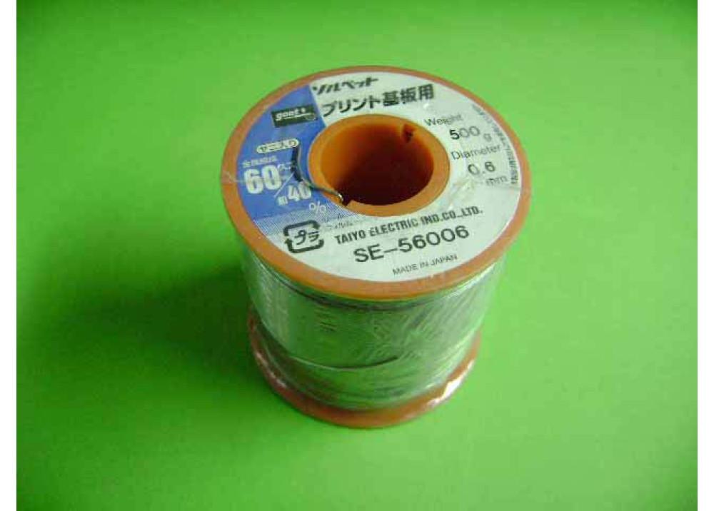 GOOT SOLDER SE-56006 0.6 mm 60% 500g
