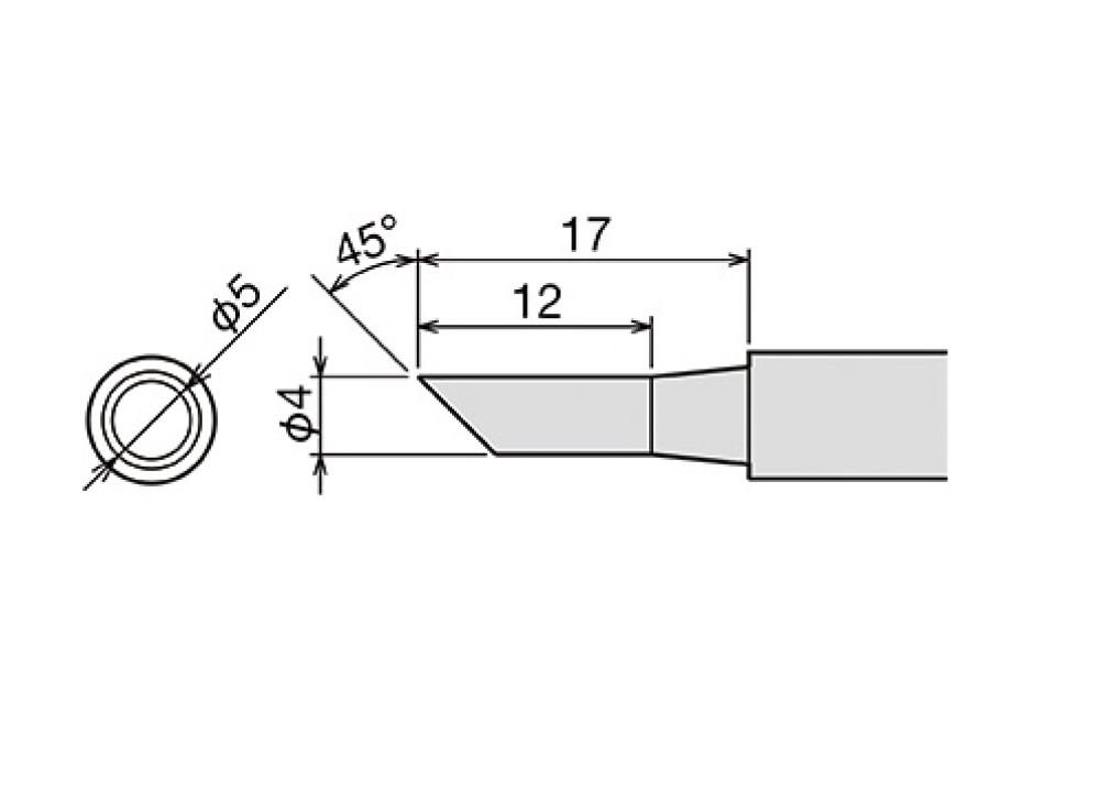 GOOT TIP PX-60RT-4C 4mm