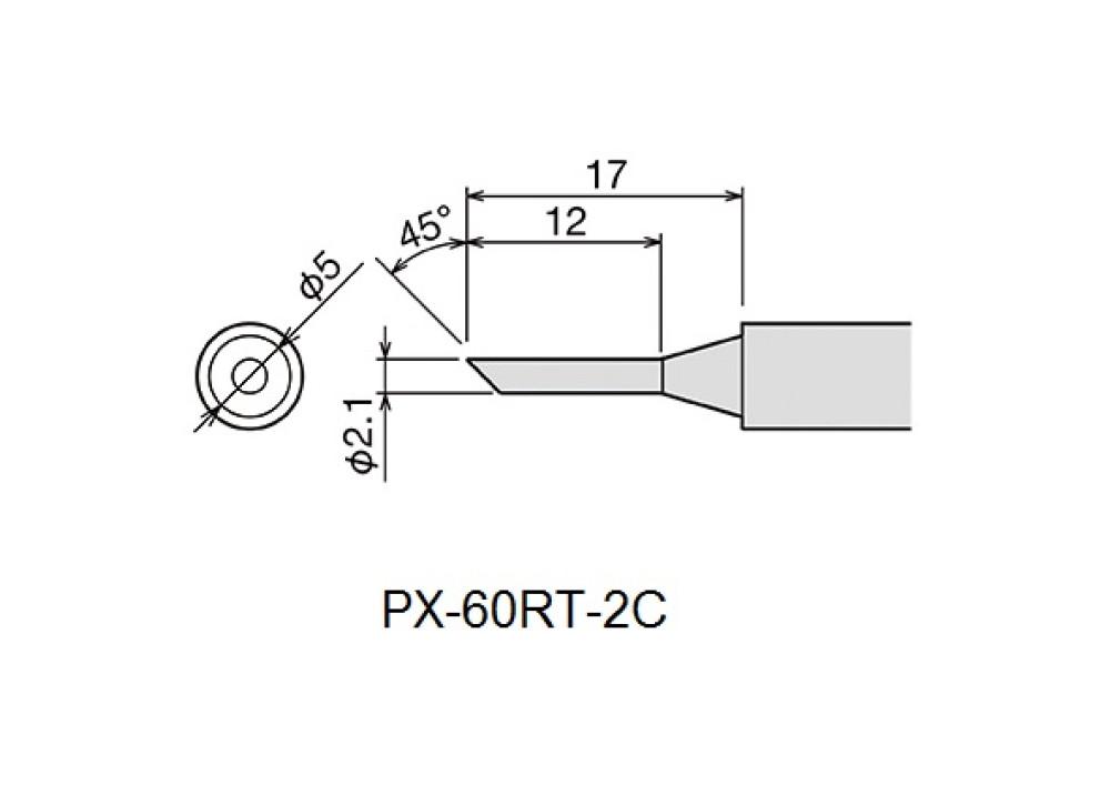 GOOT TIP PX-60RT-2C