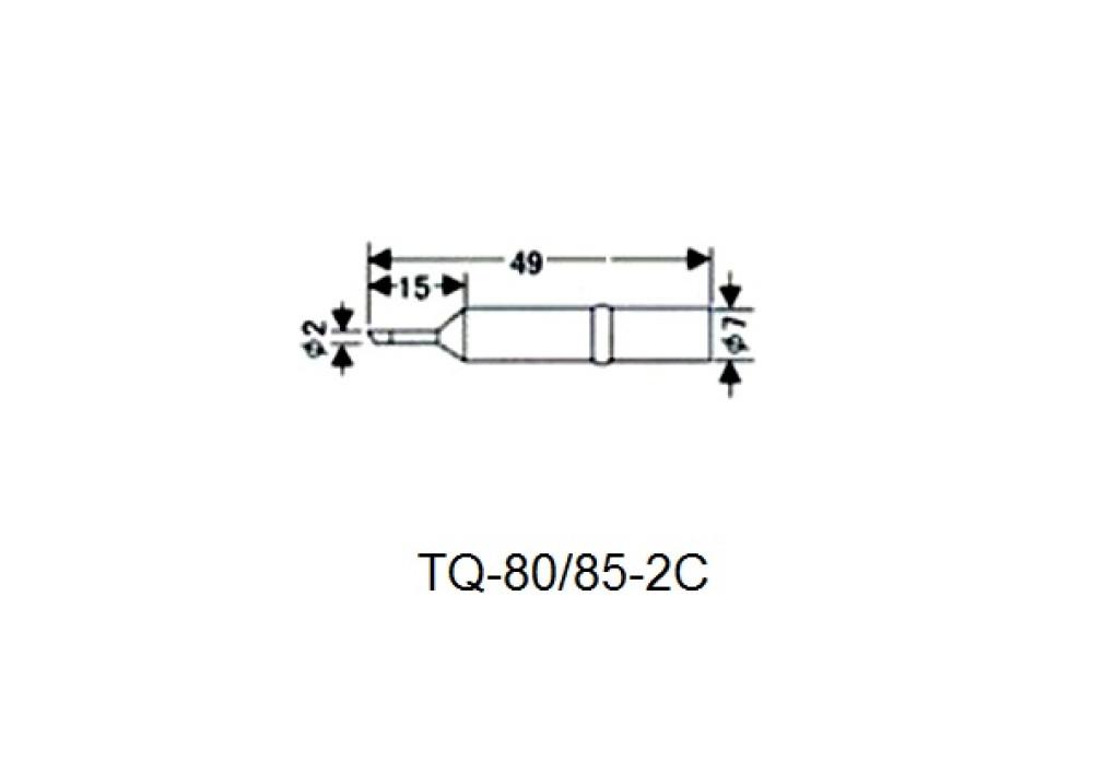 GOOT SOLDERING IRON TIP  TQ-80RT-2SC TQ-85