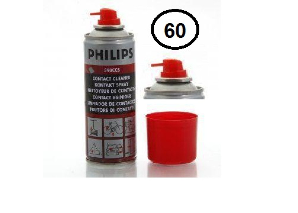 PHILIPS 390CCS Spray Contact Cleaner Oily CONTACT60