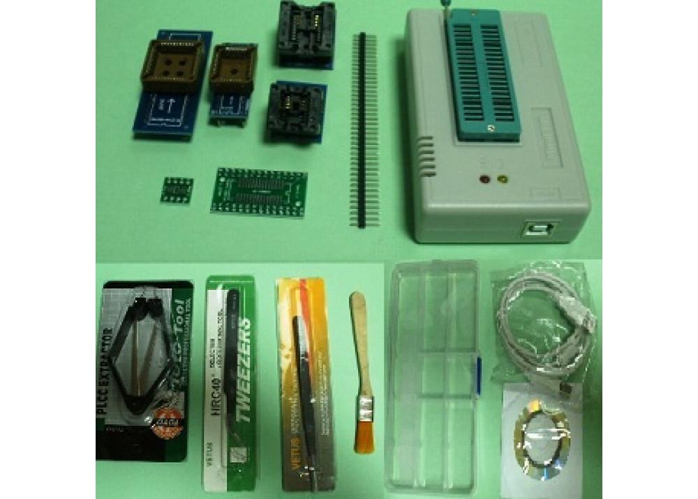 Mini Pro TL866CS Universal Programmer With + 5.pcs Adapters