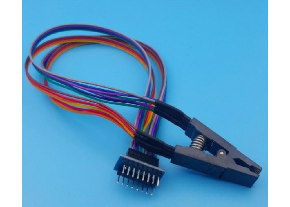 SOP16 Flash Chip IC Test Clip Socket Adapter For BIOS 24/25/93 Programmer