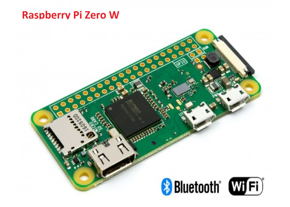 Raspberry Pi Zero W Wireless Pi 0 with WIFI and Bluetooth