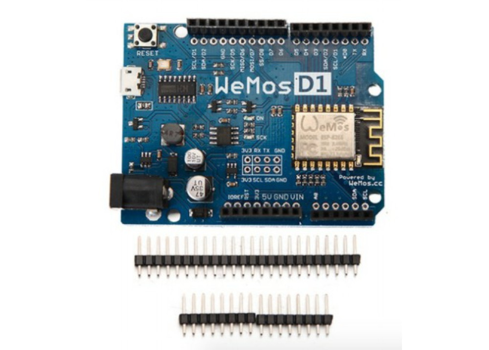 Arduino WeMos D1 R2 WiFi ESP8266 Development Board Compatible Arduino UNO Program By Arduino IDE