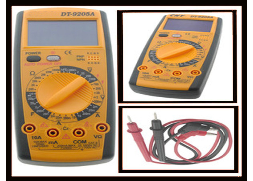 +MULTIMETER DT9205A