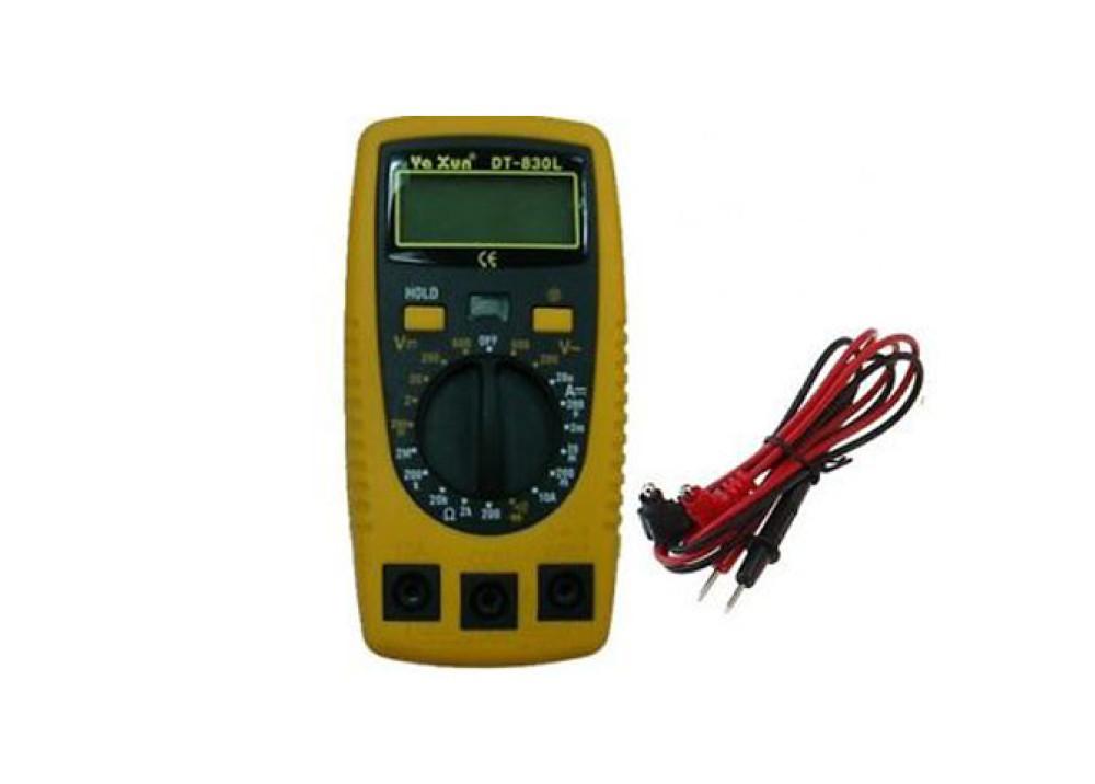 DIGITAL MULTIMETER DT-A830L