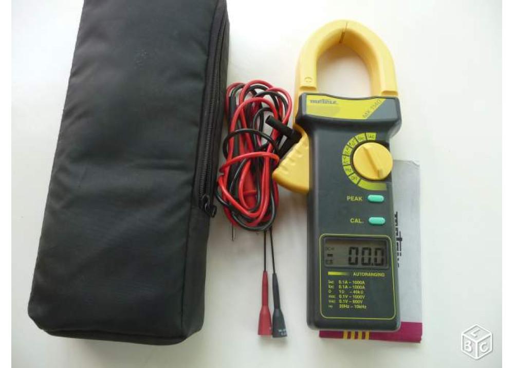 Clampmeter Metrix 1000A AC/DC MX1140
