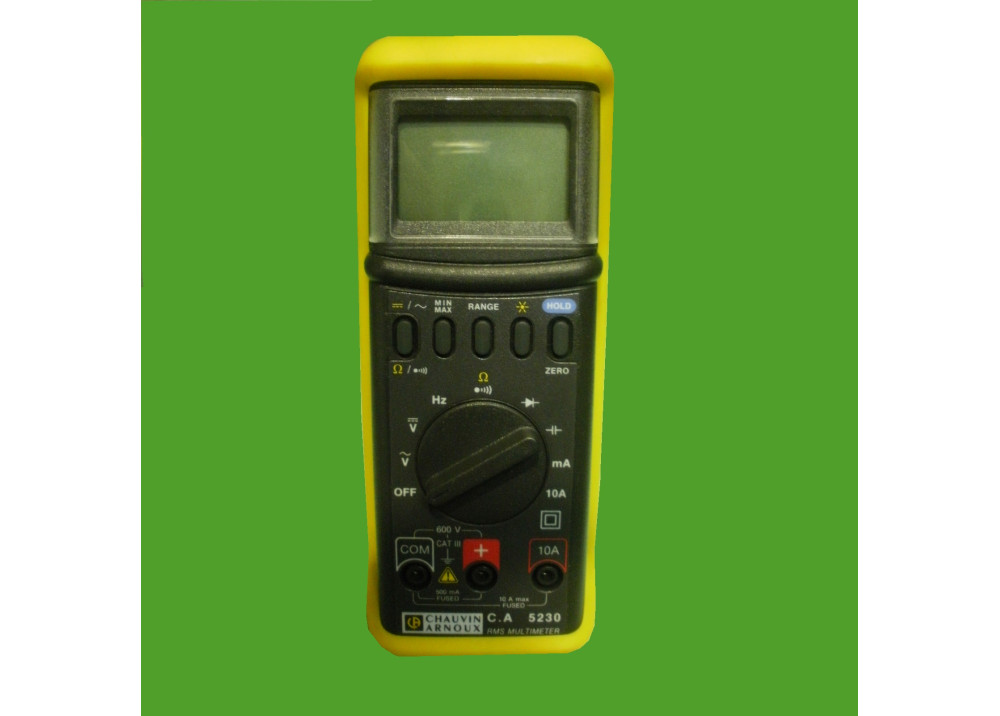 Multimeter Analogue Metrix CA5230 Water-jet proo