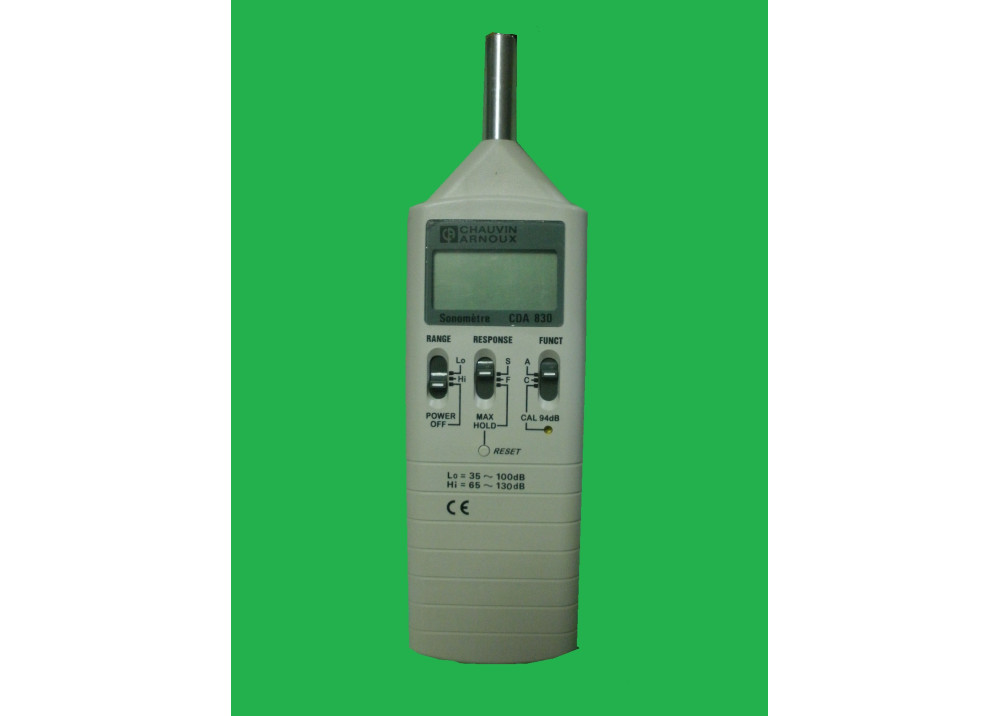 Digital Sound Level Meter Chauvin Arnoux CDA830