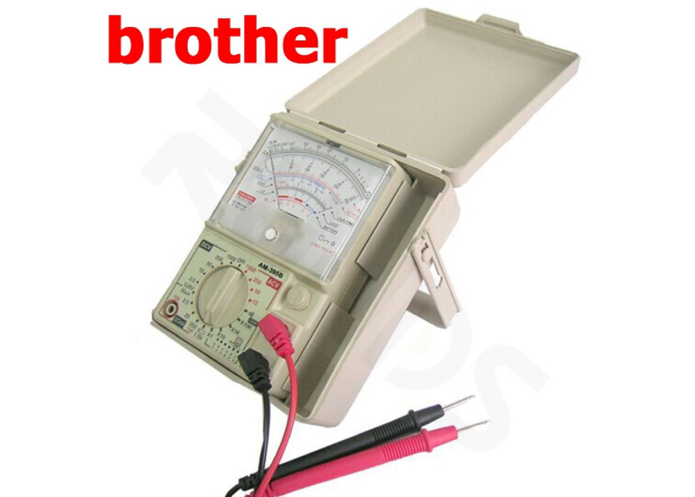 ANALOG MULTIMETER with Buzzer Brother YH-395B With a Protective Case
