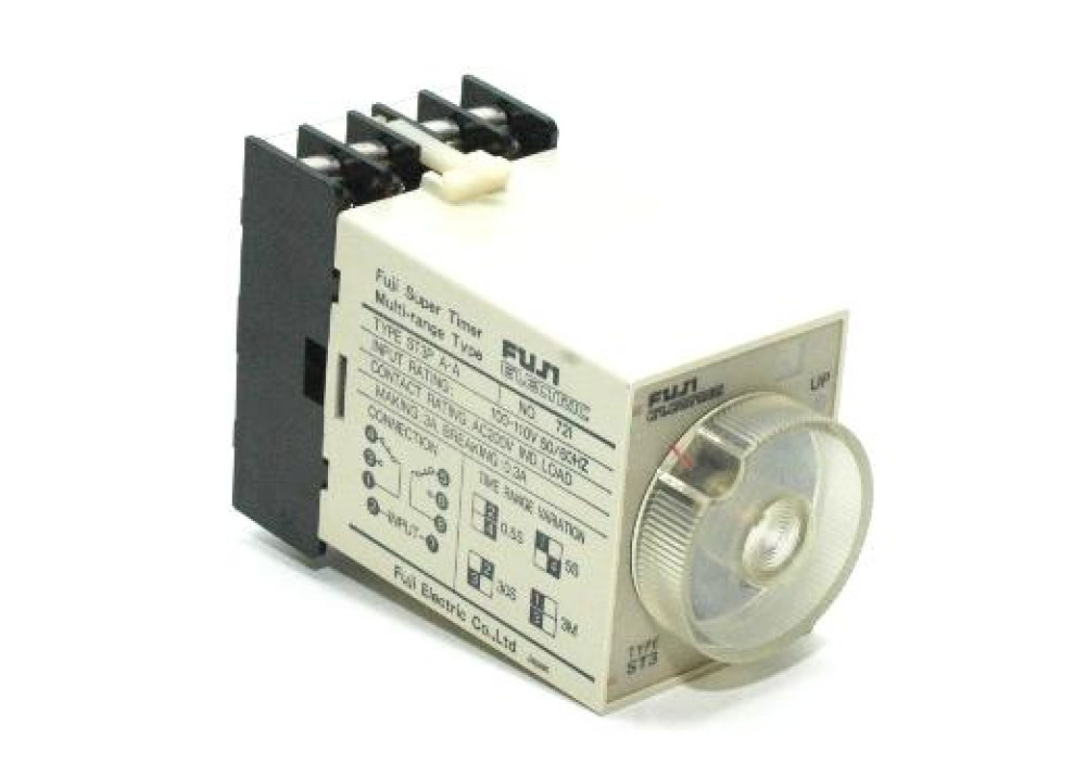 Timer On-delay DPDT time relay ST3PA-A