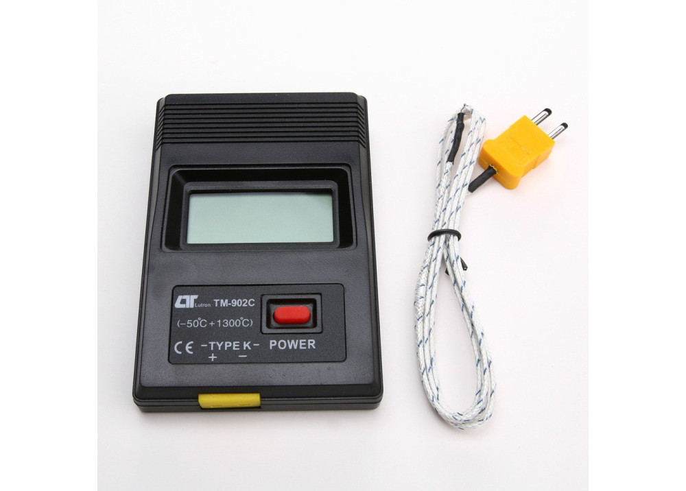 TM902C electronic K-type thermocouple LCD Display Wireless Temperature Meter