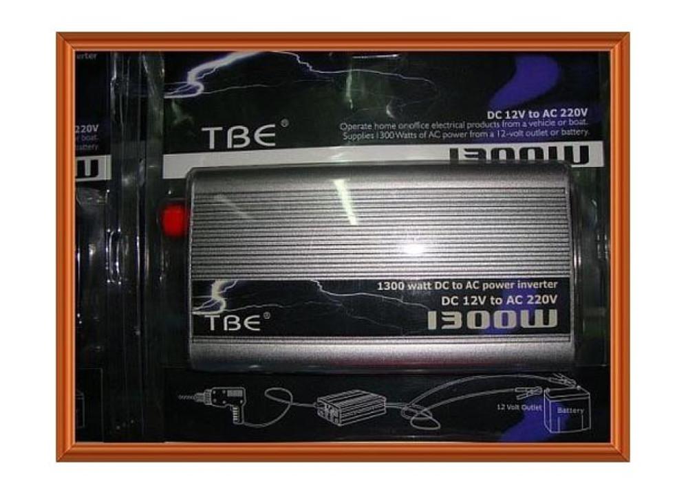 INVERTER TBE DC12V~ AC220V 1300W