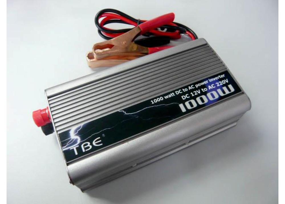 INVERTER TBE DC12V~ AC220V 1000W
