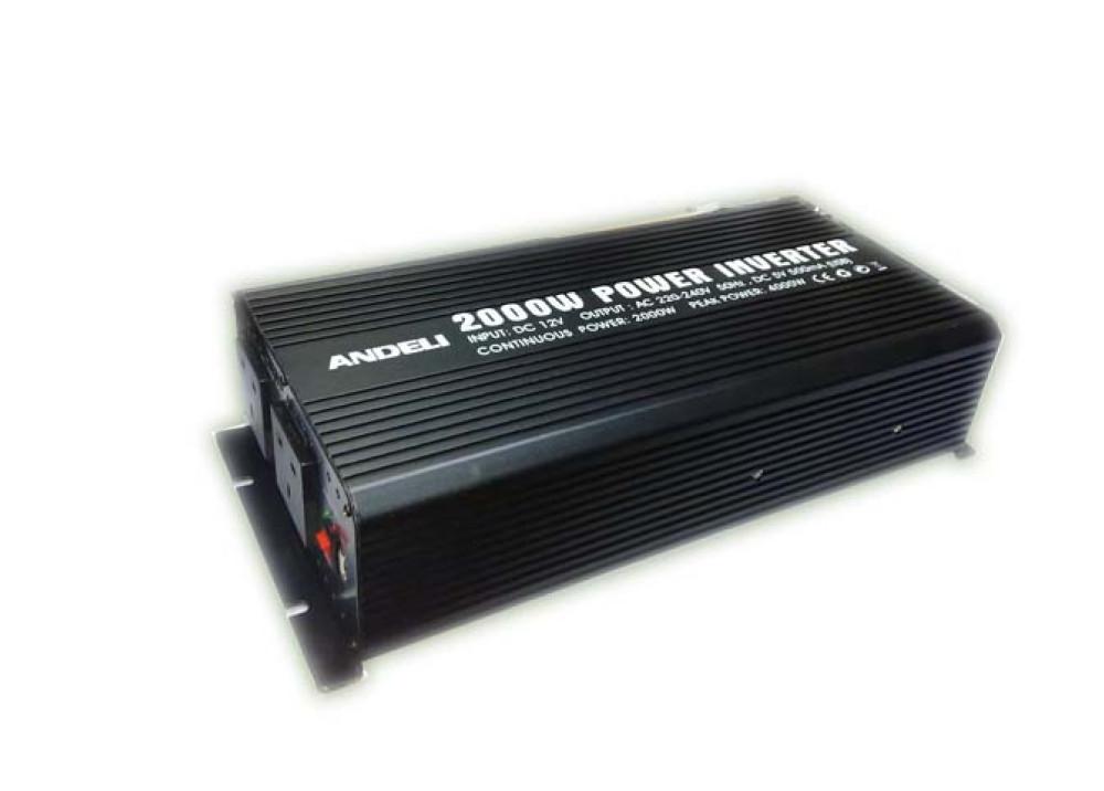 INVERTER ANDELI DC12V~ AC220V 2000W