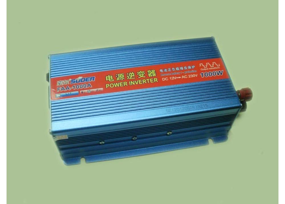 INVERTER SUOER DC12V AC220V 1000W