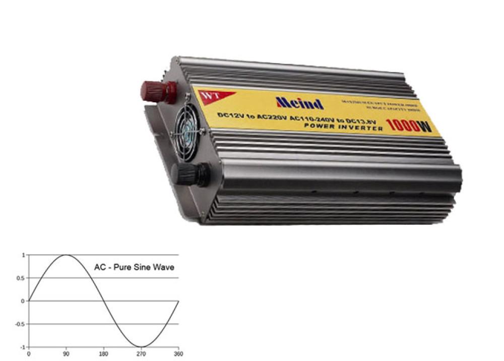 INVERTER MEIND PURE SINE DC12V AC220V 1000W