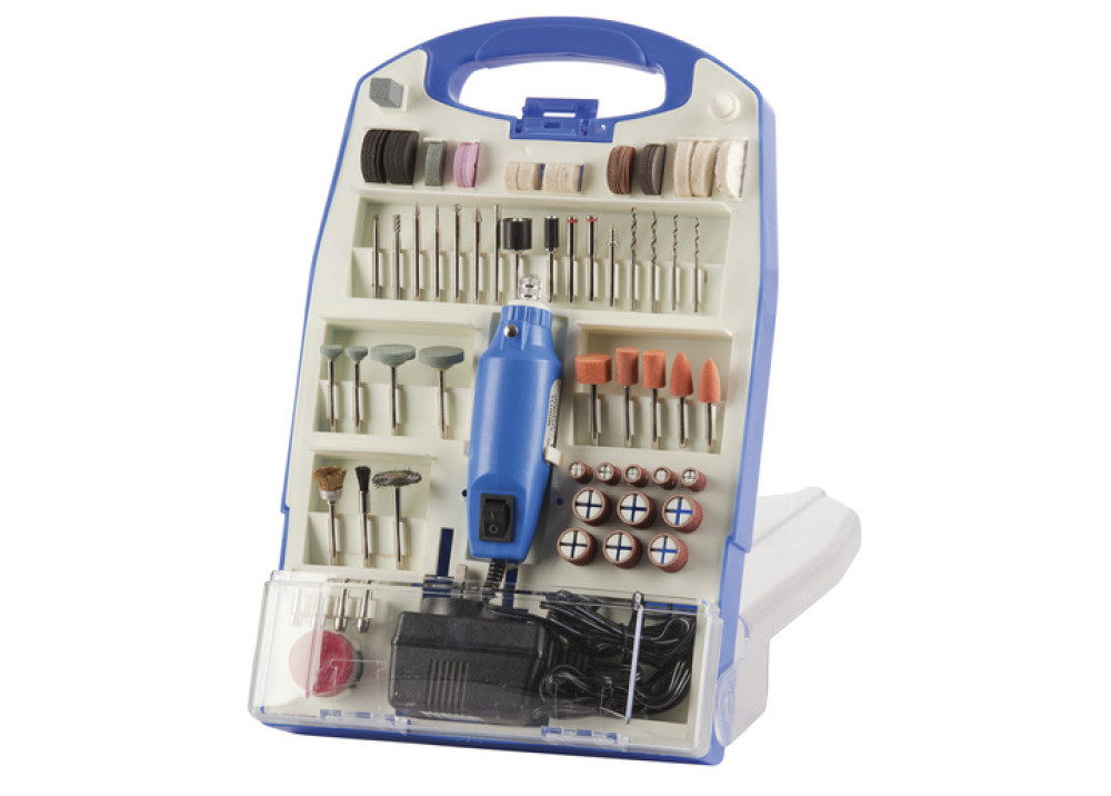DC12 110Pcs Rotary Tool Set Mini Drill