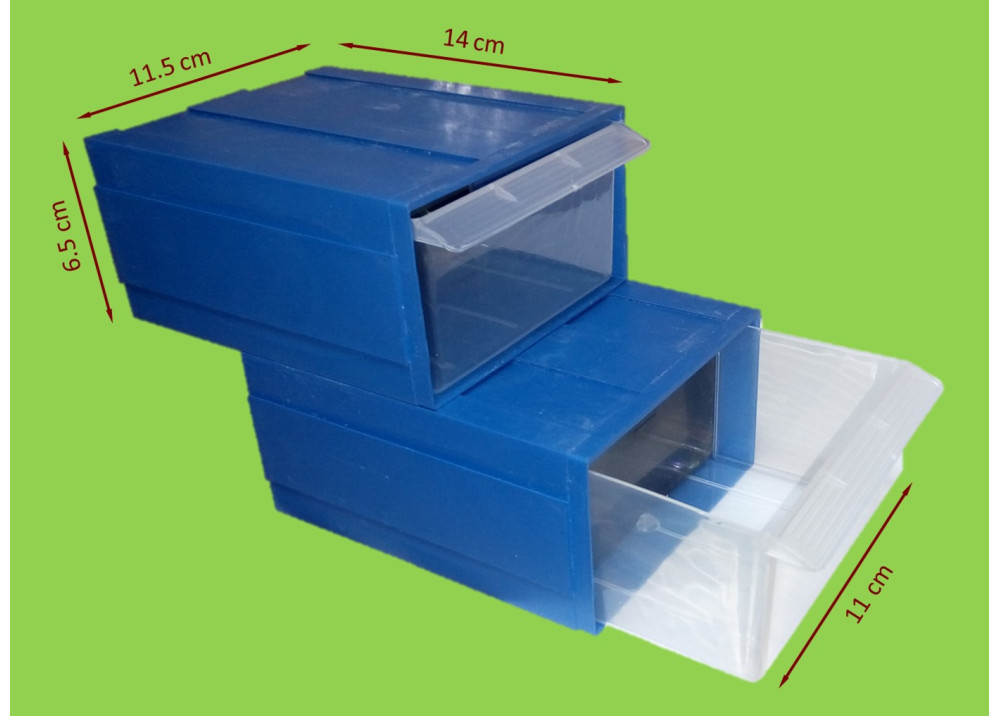 Drawer Storage DR15/1-PP 14*6.5*11.5cm