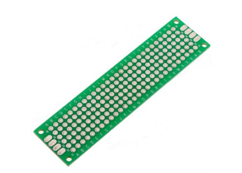 Double Side Prototype PCB Universal 2X8cm