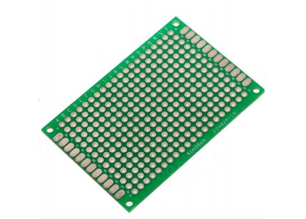 Double Side Prototype PCB Universal 4X6cm