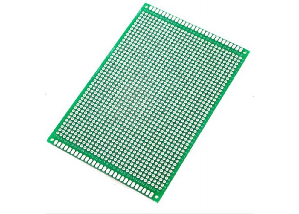 Double Side Prototype PCB Universal 9X15cm