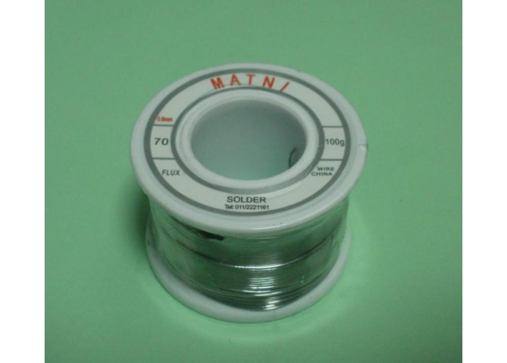 SOLDER 0.6mm 70% 50G