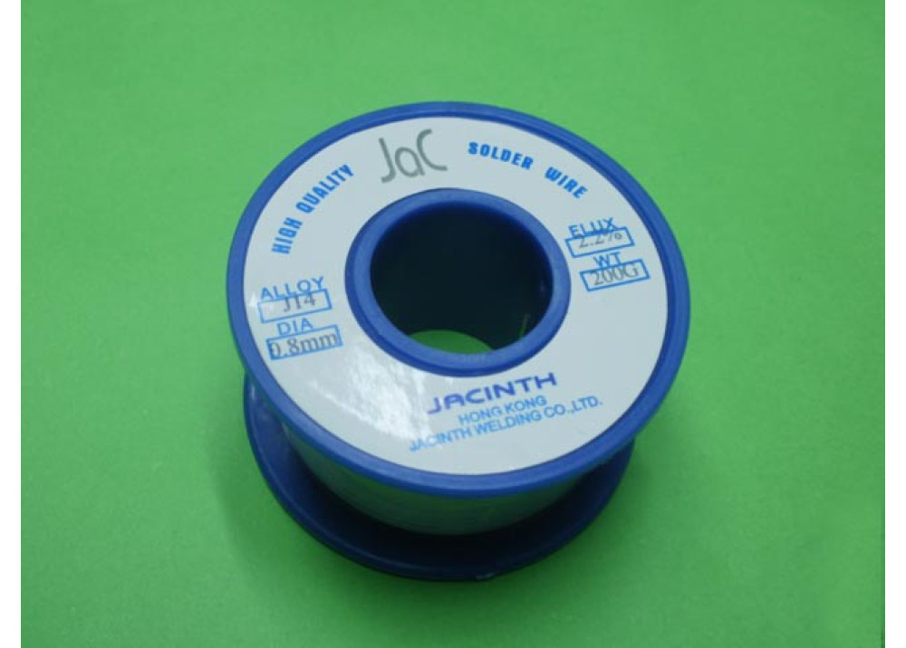 SOLDER JACINTH 0.8mm 60% 200G