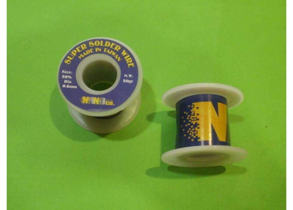 SUPER SOLDER 50% 0.8mm  50G