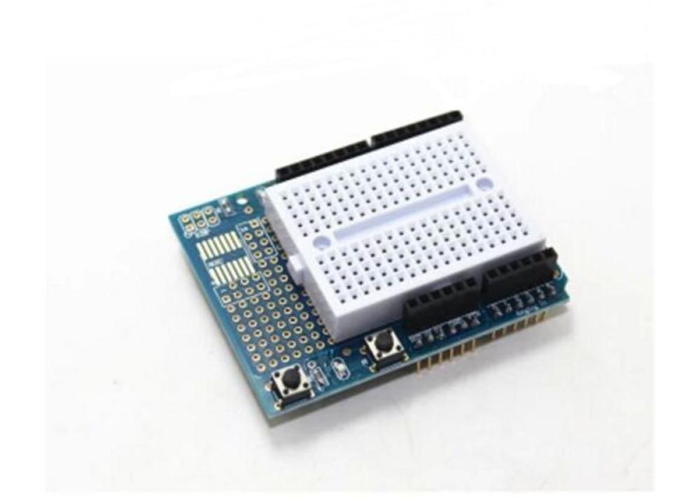 Test Board mini Shield For Arduino Arduino uno R3 extension 328 ProtoShield with minibreadboard
