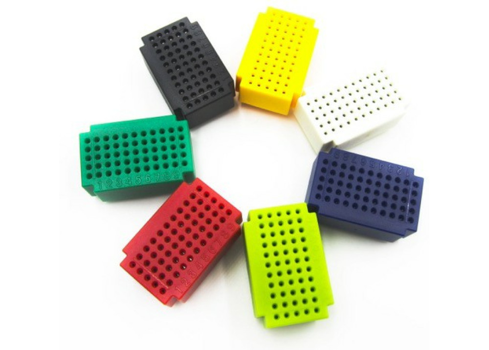 Test Board mini ZY-25 Mini 55 Points Breadboard For Arduino