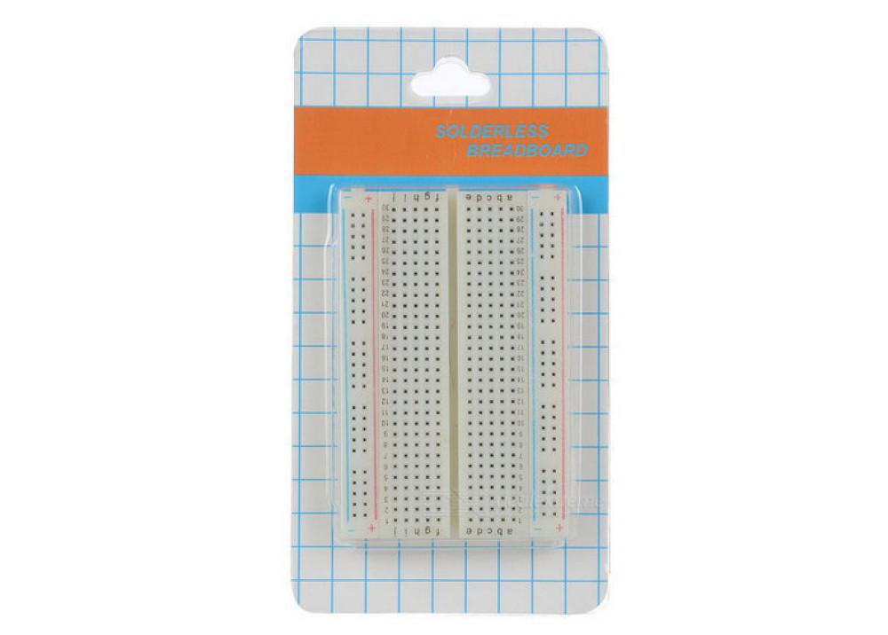 Test Board Mini 400 Points Breadboard For Arduino