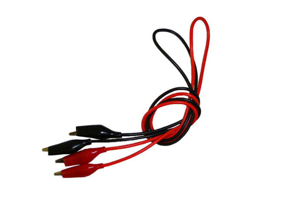 Dual Electrical Clips Wire 50cm