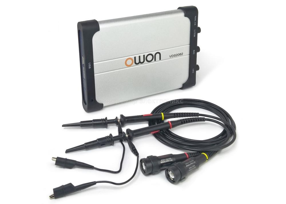 OWON Oscilloscope VDS2062  PC USB 2CH 60MHZ