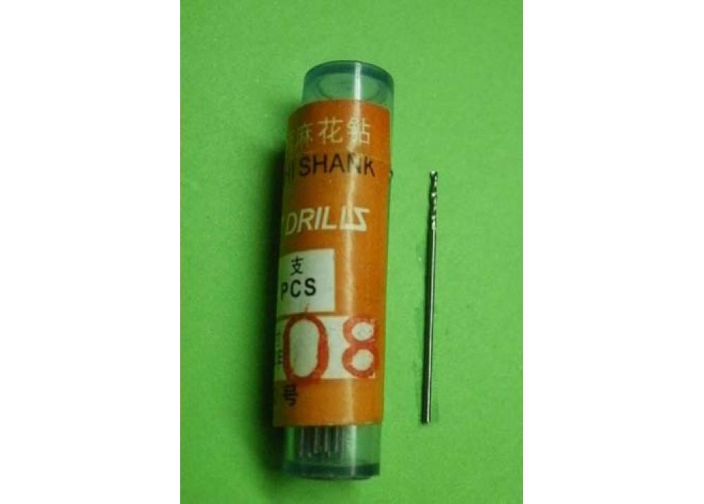 DRIL BIT 0.8mm 1X20