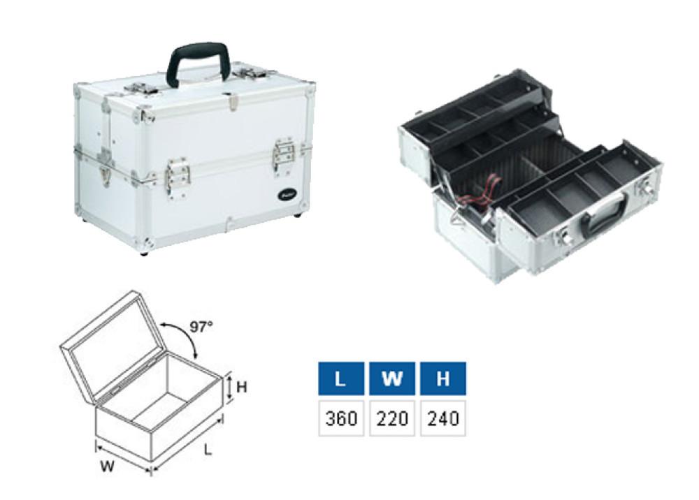 PRO sKIT Aluminium Frame Tool Case TC-760N