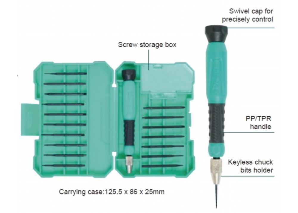 Pro sKit SD-9829M 18 in 1 Precision ScrewdriverSet