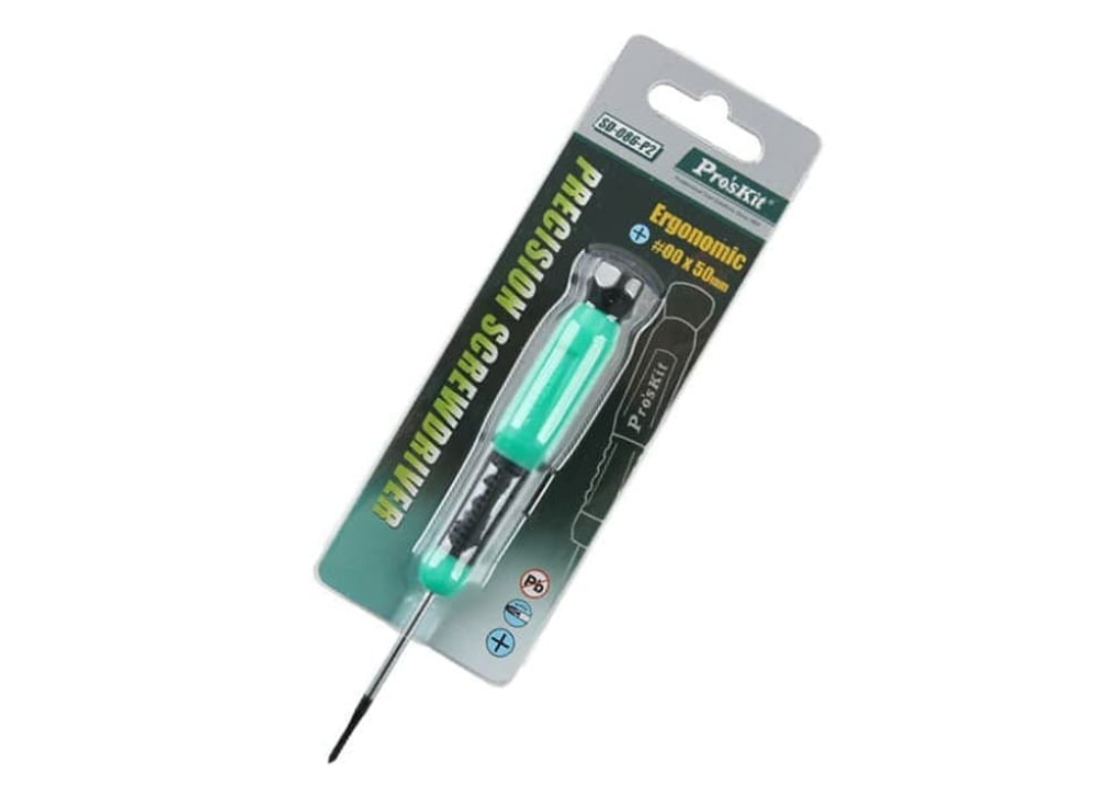 Pro sKit Precision Screwdriver SD-086-P2 (#0 x 50mm)
