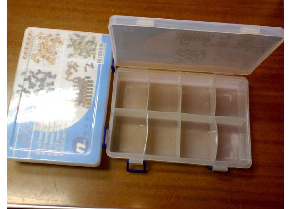 Plastic Container for Electronics Components N200