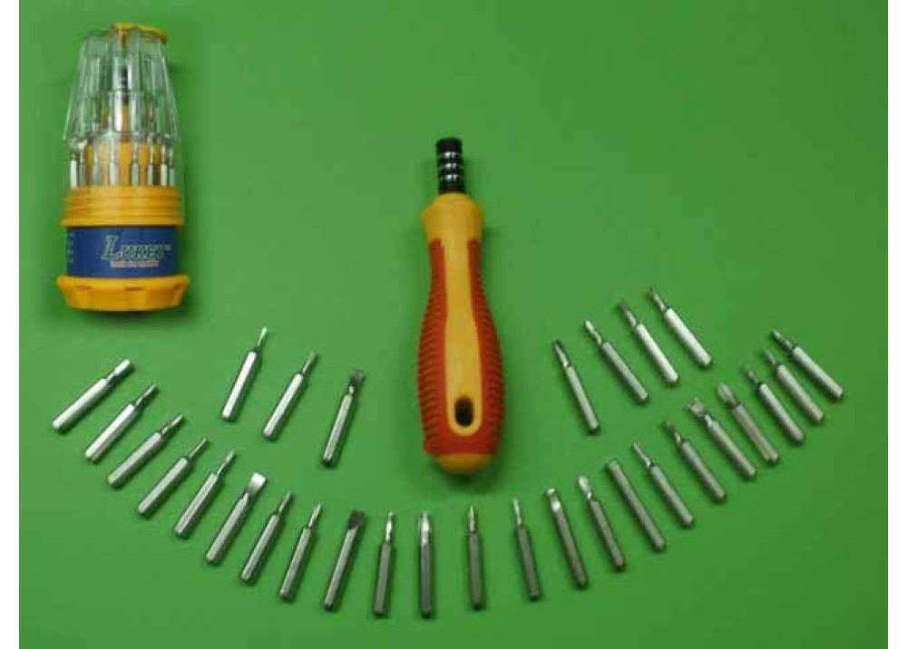LUKEY TOOLS SCREWDRIVER L3030 -30Pcs