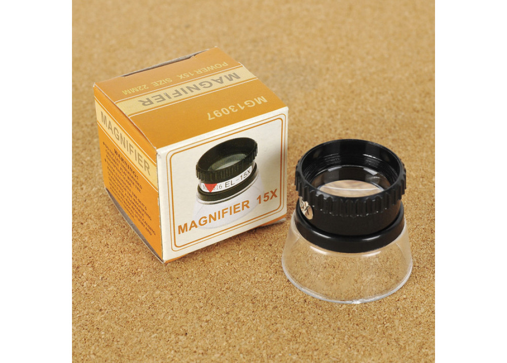 MG13097 22mm 15X Handheld Magnifier