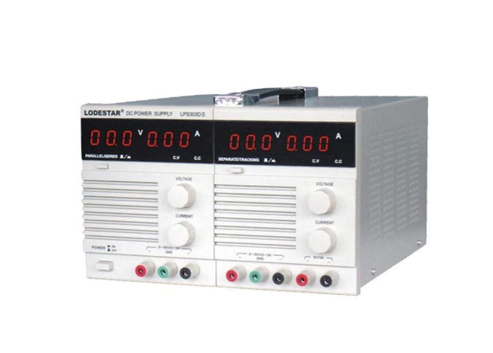 LODESTAR LPS303D2 (30V 3A)X2 POWER SUPPLY